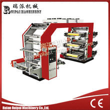 YT Model six colors high speed flexographic printing machine