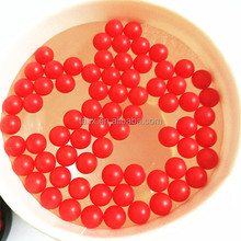 Factory Supply 6.35mm 8mm 10mm 12mm Red PP Plastic Floating Solid Water Ball for Water Treatment
