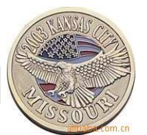 Promotion gift hot sale new fashion american eagle coin silver