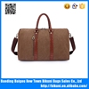 Customized design high quality casual large capacity travel bag canvas bag duffel bag from factory