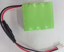 In Stock 9.6V Nominal Voltage and AA Size Lithium Cylinder Battery 800mah NI-MH Rechargeable Battery Pack