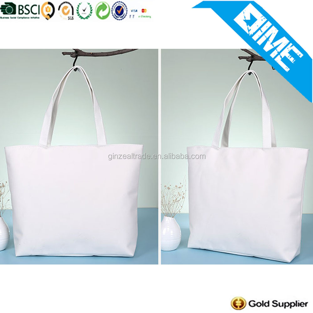 Eco-Friendly Fair Trade Promotional Shopping Plain Canvas Bags