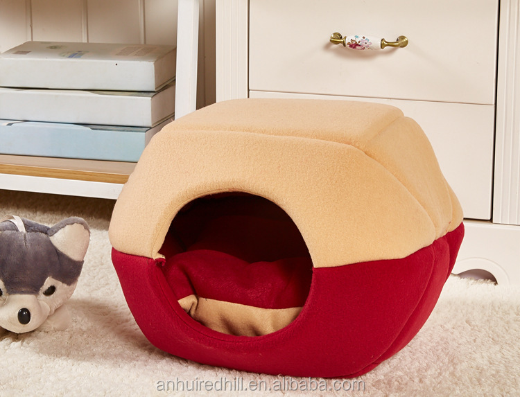 pet cat sleeping tunnel bed