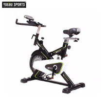 New design customized logo magnetic flywheel indoor spin bike