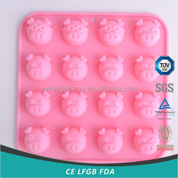 Factory supply low price food grade silicone cake mold with different size