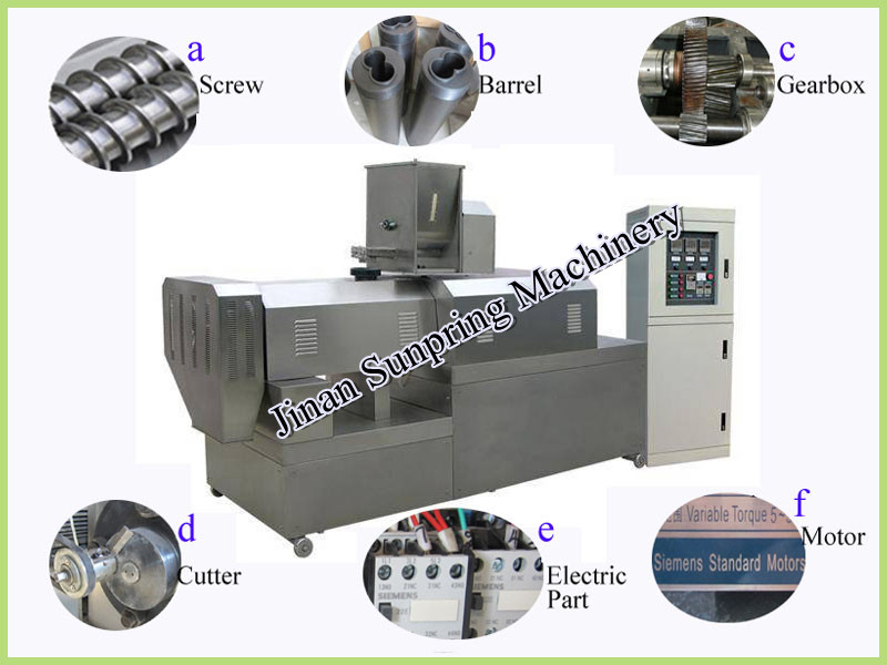 Floating fish food pellet making machine for tilapia