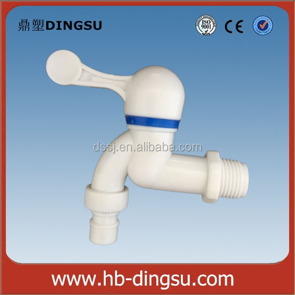 China pvc faucet crystal water taps transparent pvc faucet bibcock