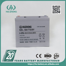 China manufacture! Rechargeable lead acid battery deep cycle maintenance free AGM VRLA battery 12V55AH