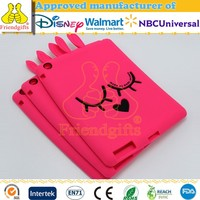 Custom Lovely Eco-friendly Silicone Case for Ipad Mini