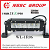 Lifetime warranty 6in inches car roof light bar 30w marine led bull bar light