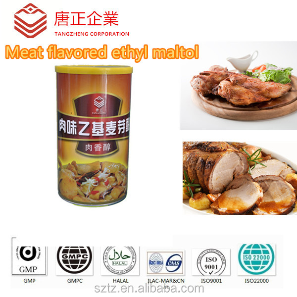Food Thickener Meat Aroma Improver /Meat Enhancer/Meat Flavored Ethyl Maltol