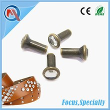 5mm Fashion Lady Garment Metal Crystal Rivet For Belt Accessorices