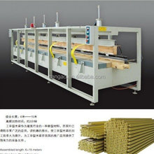 HF assembly machine for I wood beam
