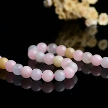 Hot!!! Wholesale 4 to 10 mm natural color Morgan stone bright crystal beads, long chain texture, lubrication, candy color