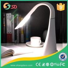 LED small folding desk lamp Students learn the lamp that shield an eye Plug-in folding desk lamp