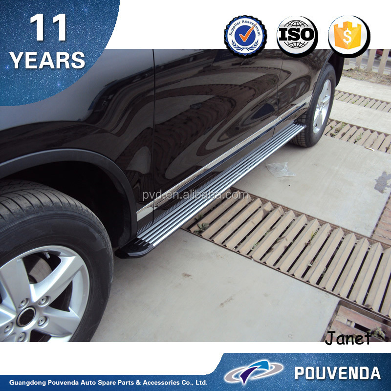 Side Step for Volkswagen Touareg 2011 Running board Auto Accessories From Pouvenda