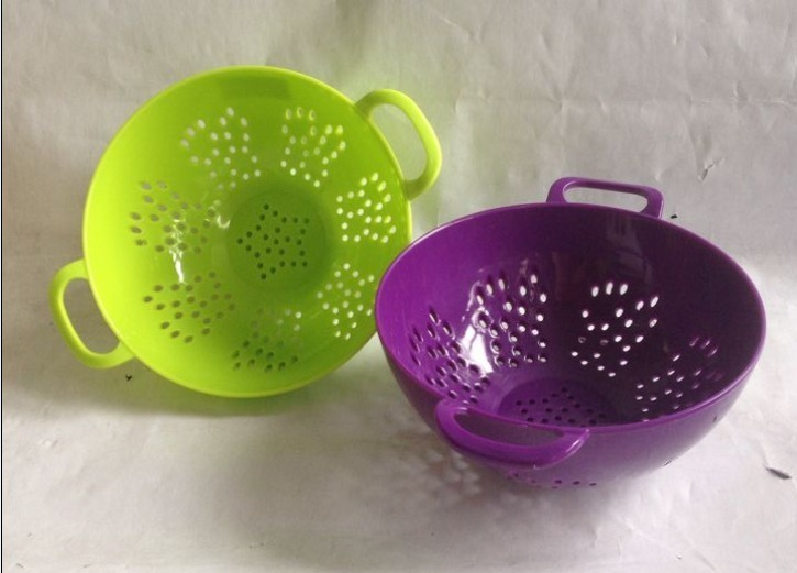 Plastic Vegetable Sieve/Dropping Water Basket