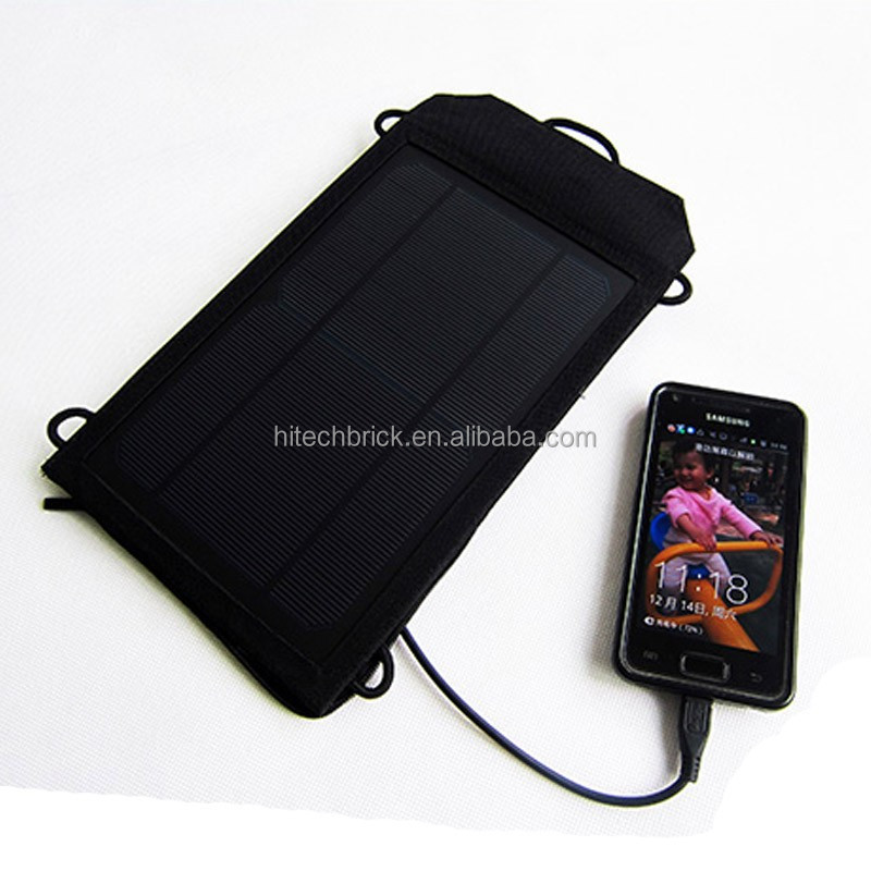 2016 Newest 4W Folding Solar Panel USB Travel Camping Portable Battery Charger For MP3 MP4 PDA Tablet Phone