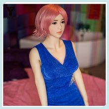 2017 New Intelligent High Quality Silicone Sex Robot Doll With Heating and Sound , talking freely Moving head , lips Eyes