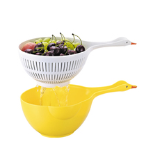 D680 food colander set kitchen accessories vegetables cleaning tools