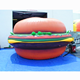 Custom inflatable hamburger inflatable food model for advertising
