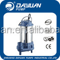 low volume submersible suction and discharge water mud sucker pump