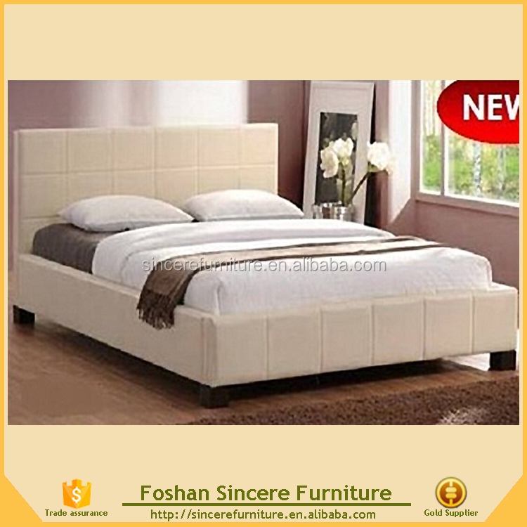 modern bedroom furniture american platform king bed cheap leather bed