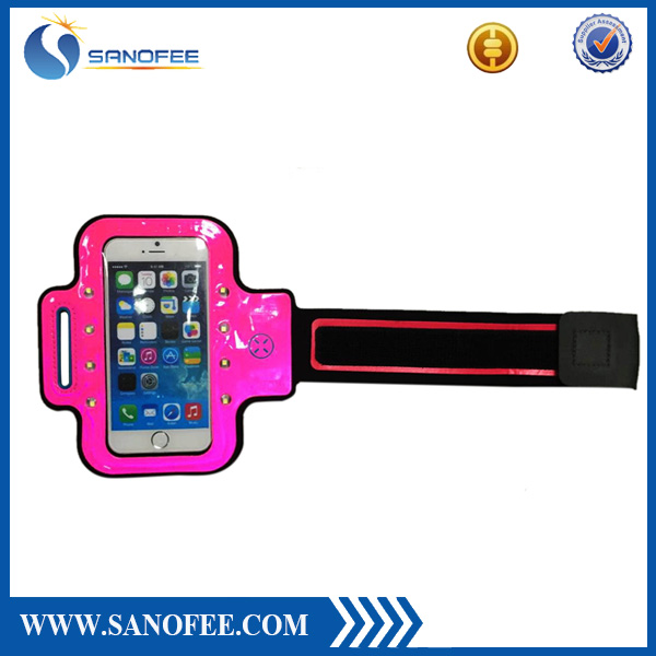 "New style armband case for iphone 5"" 5s armband waterproof bag with lanyard for iphone"