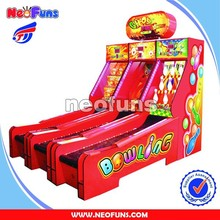 Ghost bowling redemption machine NF-R19 , redemption game machine , ticket redemption games