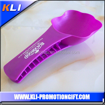 PET Plastic Type and Plastic Shopping malls gifts plastic spoon