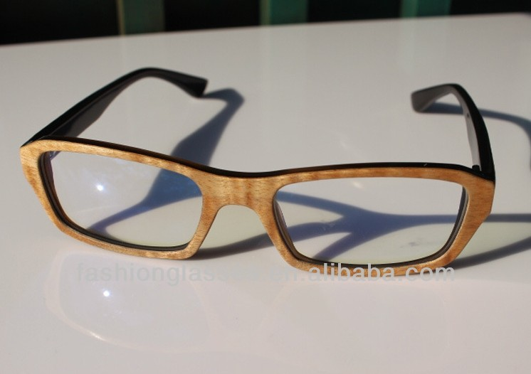 Wood and horn frame sunglasses, 2014 new design wooden sunglasses MN220