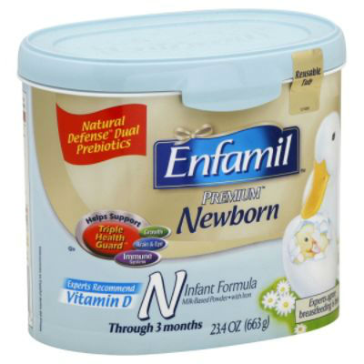 Infant formula milk powder