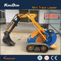 Reputable agriculture mini Loader,radlader,small garden tractor loader backhoe