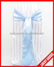 fashion light blue chair sashes in stock