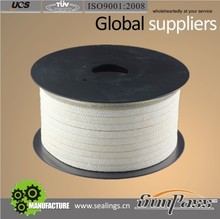 Teflon Seal Ramie Yarn Gland Packing Lubricated With PTFE