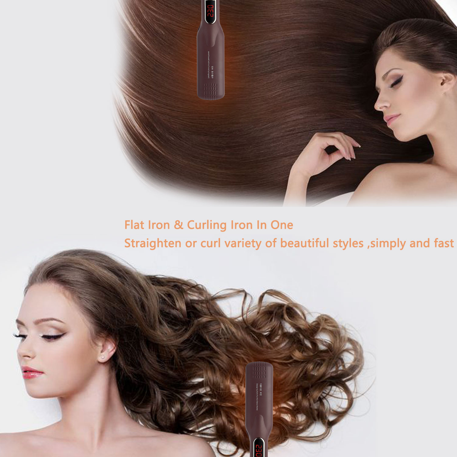 Hot Selling High Quality Ceramic Permanent Hair Straightening