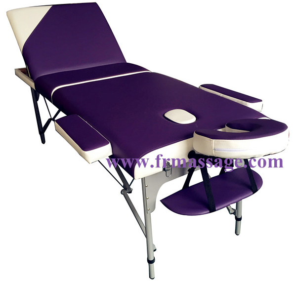 portable aluminum massage table korea massage bed therapeutic massage bed