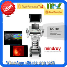 Unbelieveable Powerful 4D&CW Functions Color Doppler with Various Transducers Choice - MINDRAY NEW TYPE Ultrasound System DC40