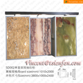 SD002 -marble antique wood display case/antique wood display case/sample wood display showcase