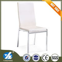 smooth leather chair European dining banquet chair