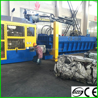 Scrap car hydraulic scrap metal balers for sale