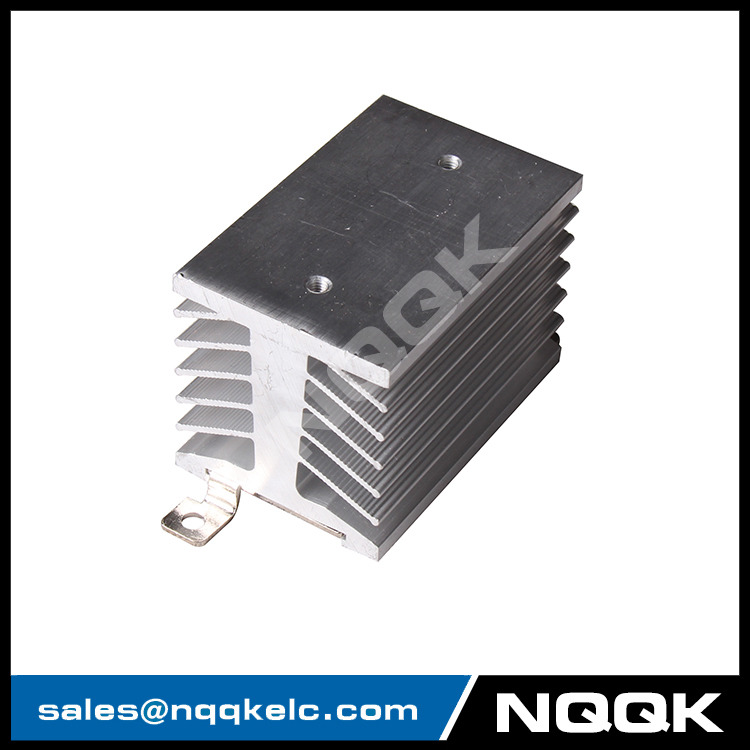 D-74 aluminum heat sink / heatsink heat sink with DIN Rail Mounted