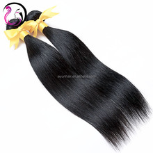 wholesaler distributor overseas indian temple hair from indian women long hair, 16inch remy virgin straight hair for sale