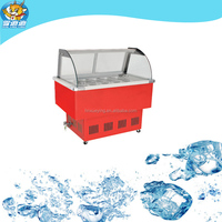 High quality low price commercial salad bar refrigerator