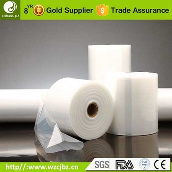 transparent plastic freezer food packaging 7 layer pa/pe coex tubing film