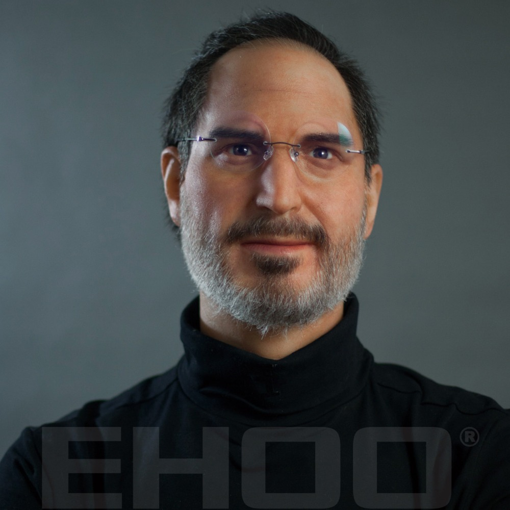 Life-size Museum CEO Wax Figures Steve Jobs for Exhibition