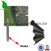 Garden & Landscape Edgings Black Plastic Garden Edging