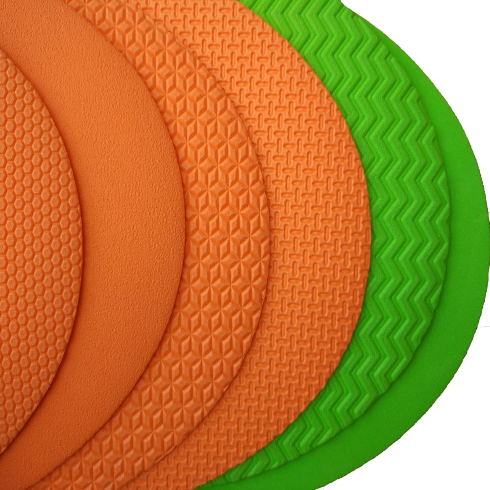 specific shapes made from EVA foam roll material