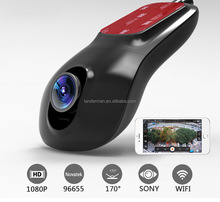 New model hidden car camera full HD night vision wireless WIFI Car DVR 1080P car camera recorder