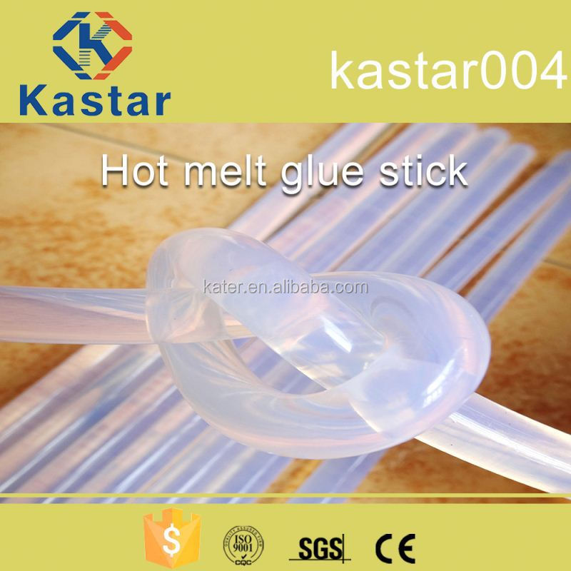 hot melt silicone glue stick with transparent color